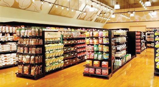 Supermarket-Shelving